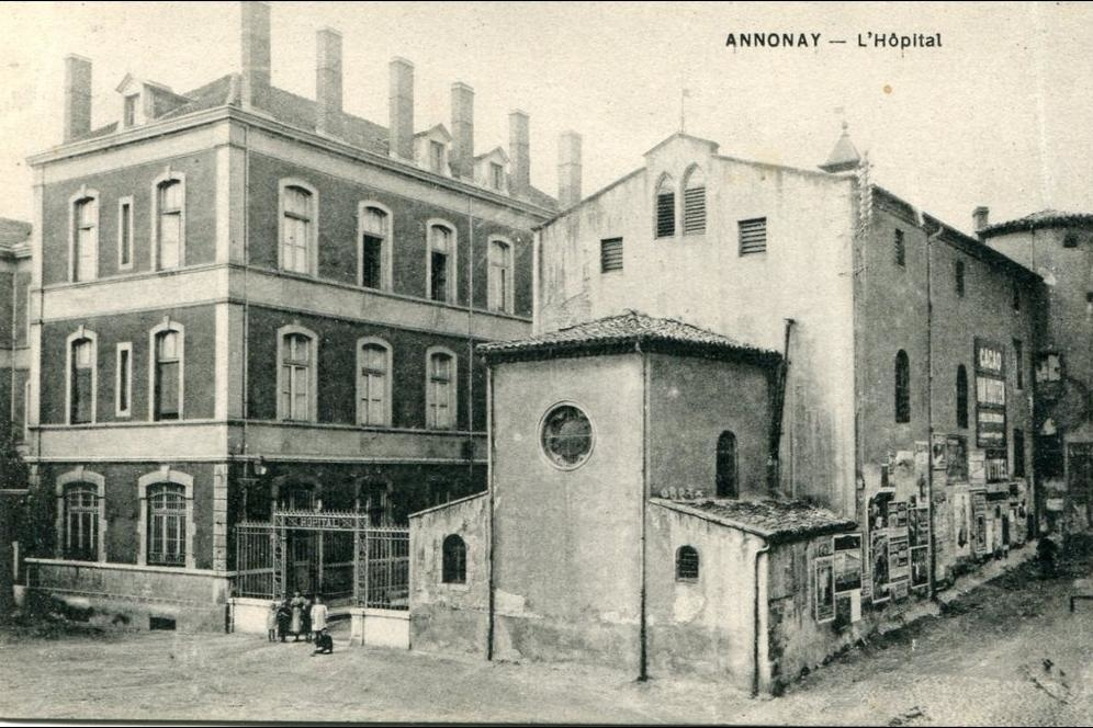 I Comme Isidore Ancien Hopital Annonay