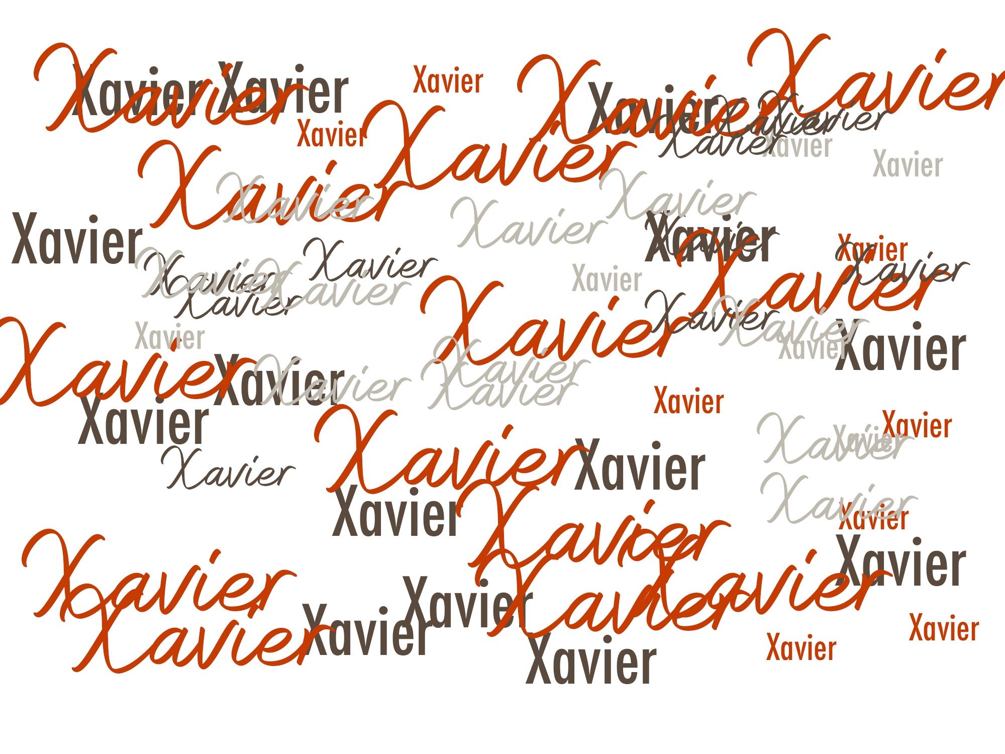 X Comme Xavier